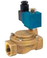 Electroválvulas Latão p/ Água Normalmente Aberta