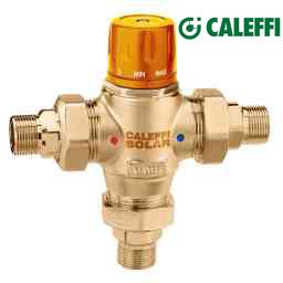 Válvulas Misturadoras Termostáticas Solar-CALEFFI
