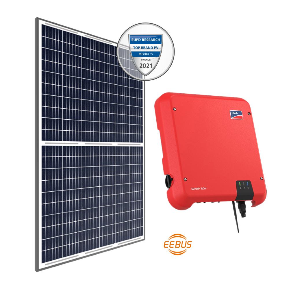Kits Fotovoltaicos PREMIUM+ c/Monit.Online Energia