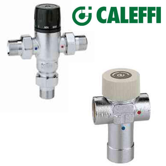 Válvulas Misturadoras Termostáticas - CALEFFI