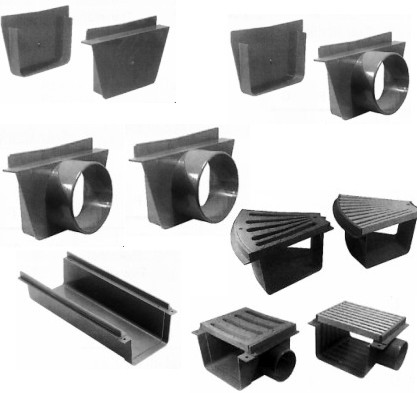 Canaletes e Acessórios Largura 200mm