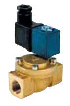 Electroválvulas Latão p/ Água Normalmente Fechada