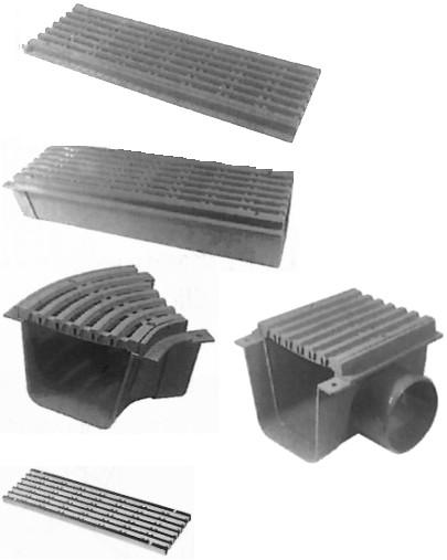 Grelhas e Acessórios Largura 130mm Transitável