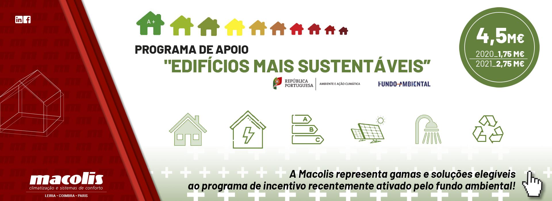 """Programa de Incentivo """"EDIFÍCIOS MAIS SUSTENTÁVEIS"""""""